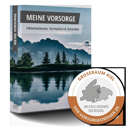 "Der Vorsorge-Ordner ""Edition Kiel"" mit Landkarte"